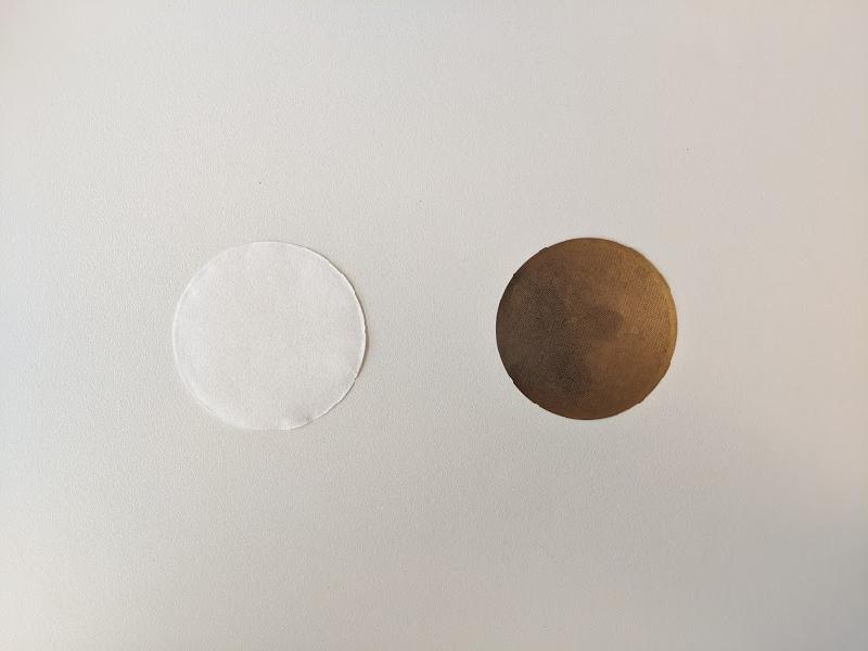 エアロプレスで使用できるフィルターは2種類あります。
