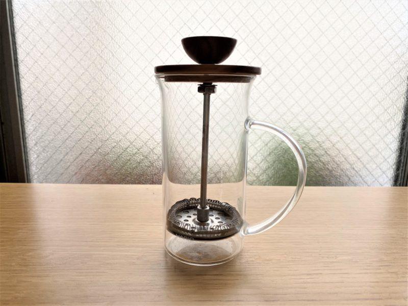 フレンチプレスはもともとコーヒーの抽出道具として開発されました。
