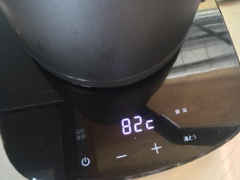 美味しいクレバードリップコーヒーを淹れる為、測量は欠かせません。