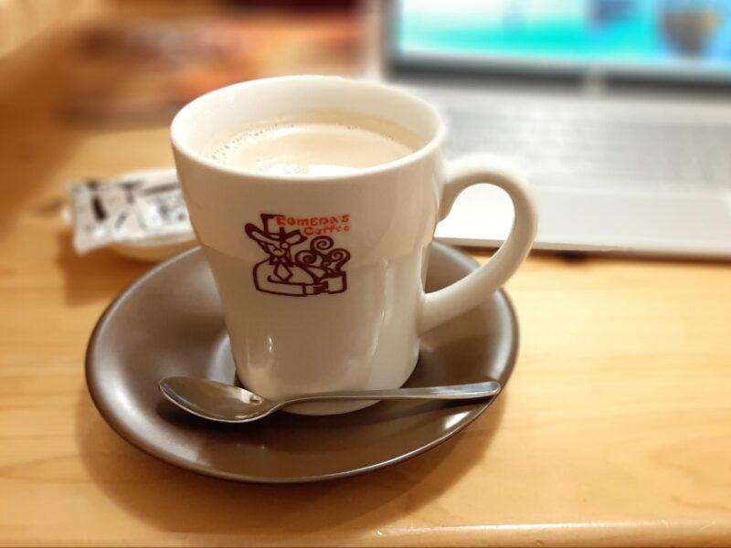 コメダ珈琲「カフェインレスコーヒー」