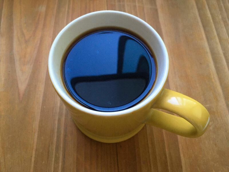 ディカフェの入ったカップ