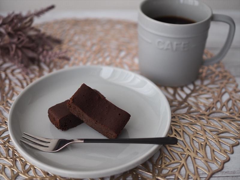 コーヒーと濃厚くちどけのガトーショコラ